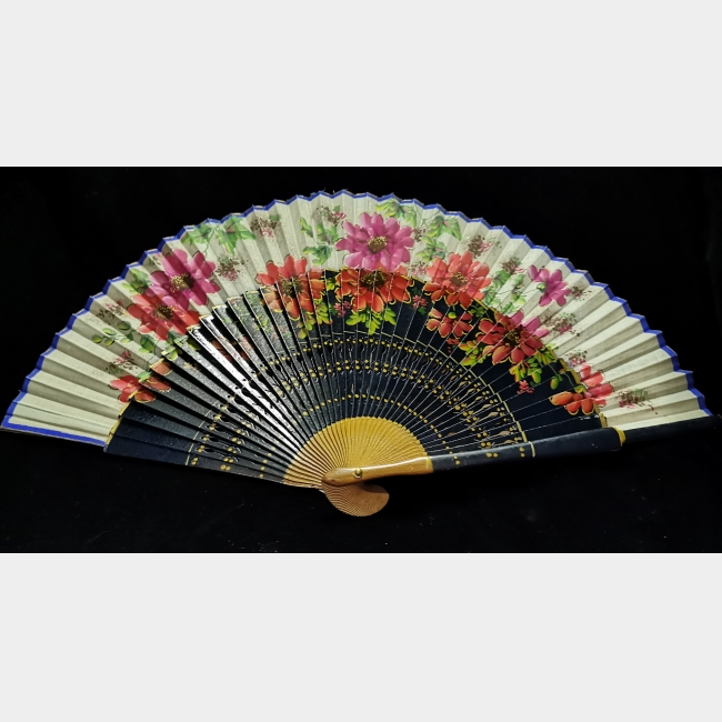 1950s Spanish Painted Fan